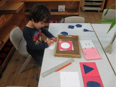 In the Montessori classroom: children explore the diversity of culture, background and traditions of China