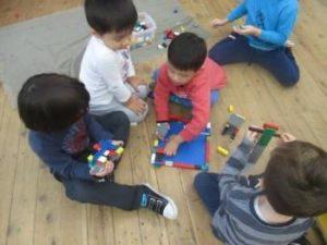 Montessori Classroom: children are confident and involved