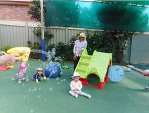 At Kinderhaus - the water trough 10