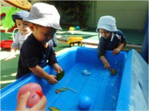 At Kinderhaus - the water trough 2