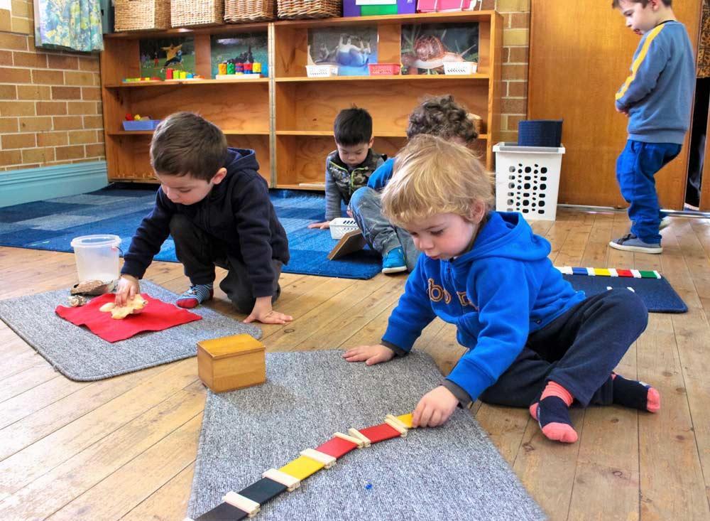 Beverly- Montessori kids playing