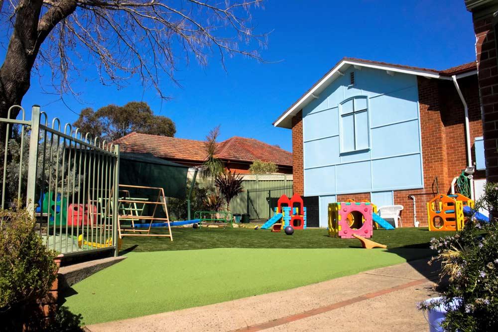 Beverly Montessori centre playground