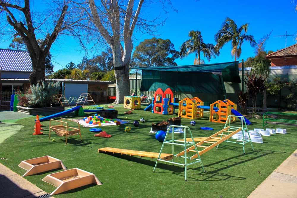 Beverly Montessori playground