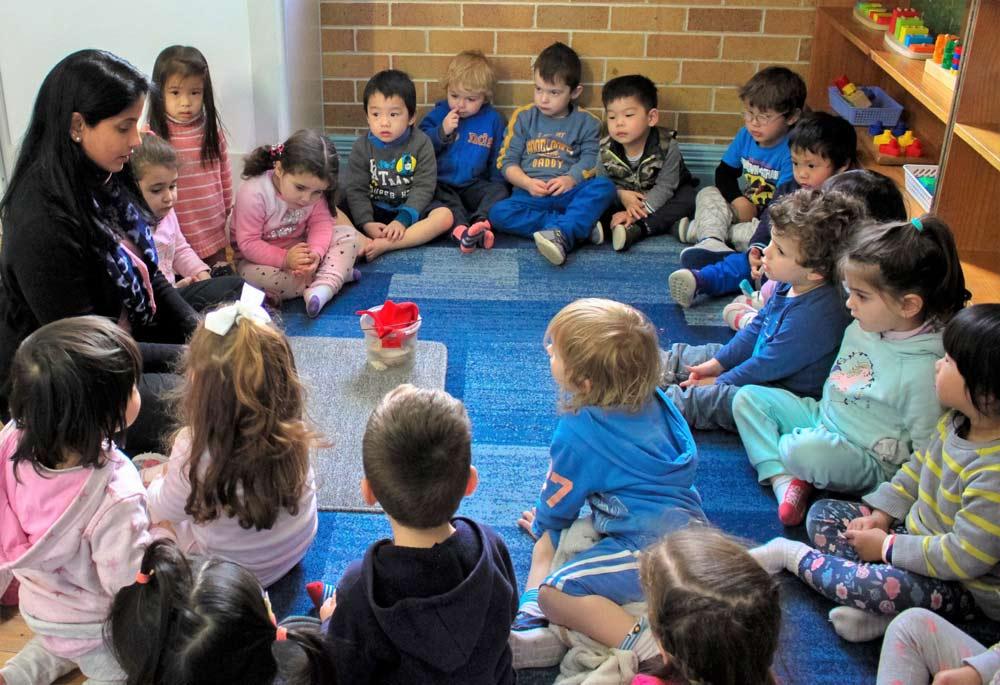 Beverly Montessori children group