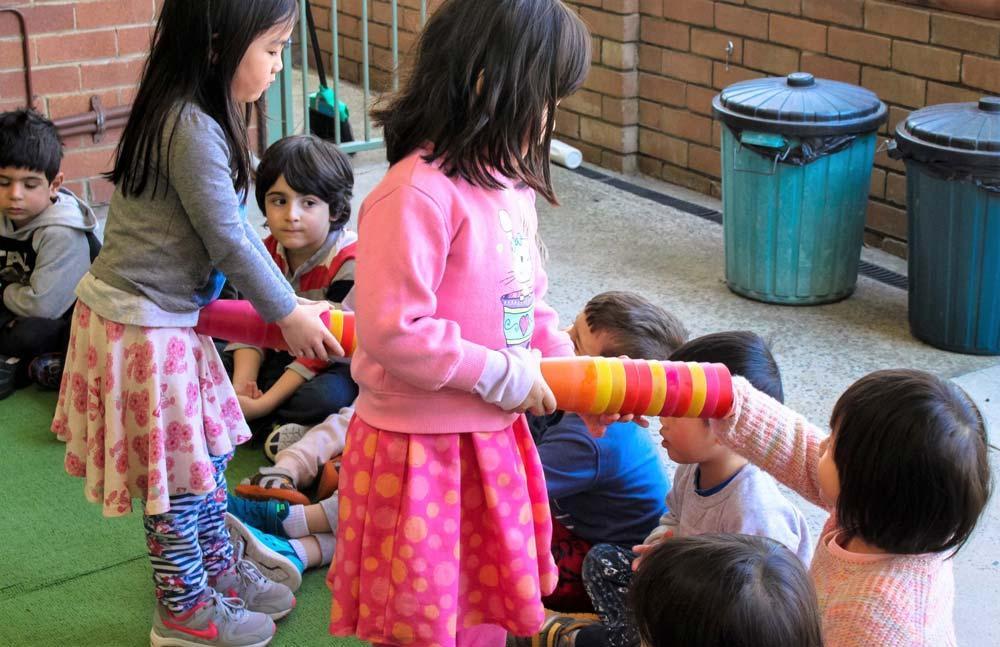 Beverly Montessori children in activity