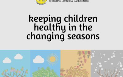 Keeping children healthy as seasons change