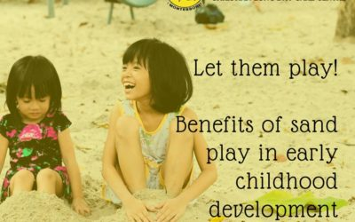 Sand play helps children develop practical and social skills