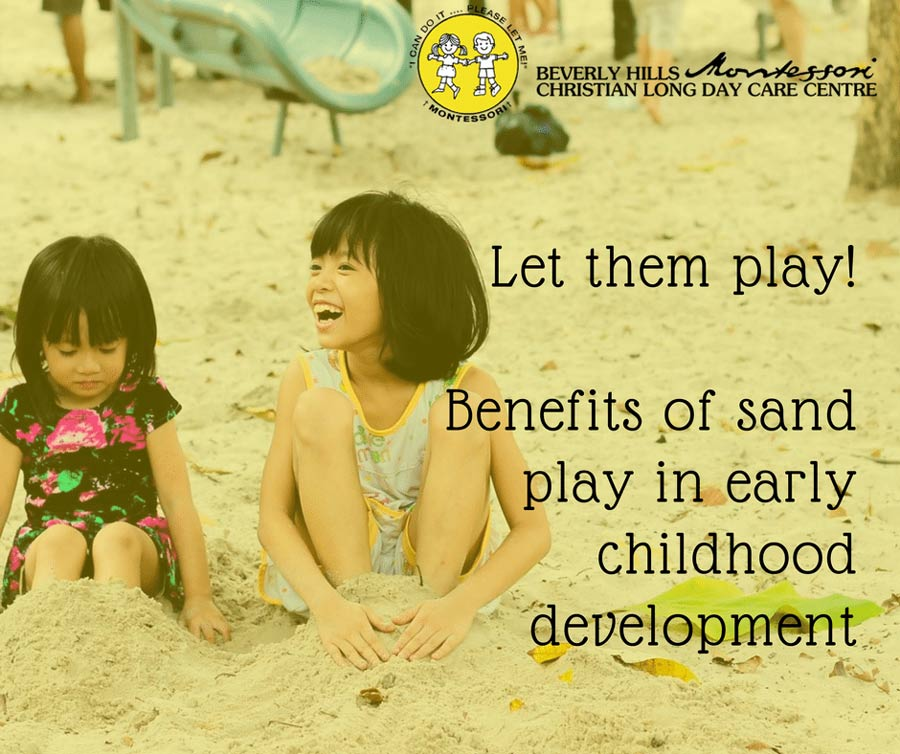 Read more about the article Sand play helps children develop practical and social skills