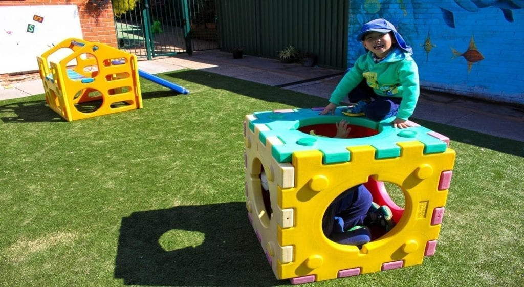 Beverly Hills Montessori Narwee Boy Playing